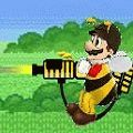 Марио пчела Mario Bee Defense играть бесплатно без регистрации